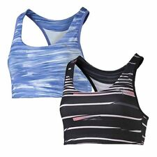 Womens Puma Sports Bra Top WT Essential Graphic Ladies Workout Fitness Gym NEW