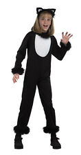 #CHILD KITTY BLACK CAT COMPLETE OUTFIT ANIMAL HALLOWEEN FANCY DRESS OUTFIT