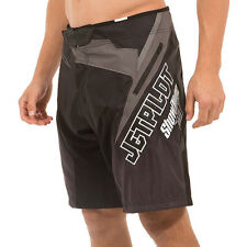 Jetpilot NEW Showtime FMX Ignite Boardies Black Mens Wakeboard Boardshorts SALE