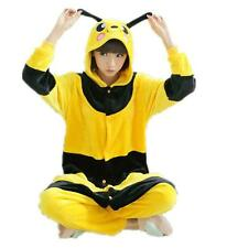 New Bee Adult Animal Costume Onesies Pyjamas Pajama Sleepwear Jumpsuit