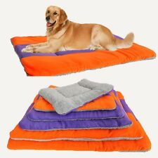 HOT Large Warm Soft Fleece Pet Dog Kennel Cat Puppy Bed Mat Pad Kennel Cushion