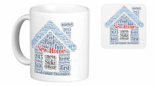 Personalised Mug, Word Art, New Home gift, your own words