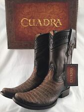 mens CUADRA AUTHENTIC cocodrile alligator belly western cowboy BOOTS *ALL SIZES