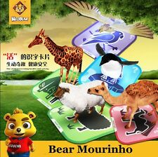 Neobear Pocket Zoo 3D Animals or vehicle Cards Children Education ios android