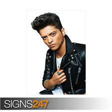 BRUNO MARS (2133) Celebrity Poster -  Picture Poster Print Art A0 A1 A2 A3 A4