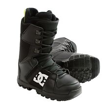 NEW DC Shoes Men's Phase Snowboard Boots Command Liner Black Retail $120