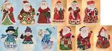 JIM SHORE By Mill Hill SANTAS AND SNOWMEN Counted Cross Stitch Kits CHRISTMAS