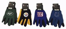 NFL Sport Utility Work Winter Summer Gloves New With Tags Osfm Choose Your Team