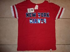 VICTORIAS SECRET PINK NFL NEW YORK GIANTS FOOTBALL SCOOPNECK TEESHIRT NWT