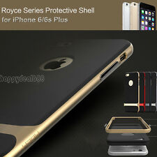 """Hybrid Shockproof Hard Bumper Soft Case Cover For Apple iPhone 6s 4.7"""" 5.5"""" Plus"""