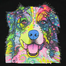 Kids Australian Shepherd Dog T-Shirt Unisex Children Adult Cute Youth boys Neon