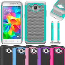 Shockproof Hybrid Impact Matte Case Cover For Samsung Galaxy Grand Prime G530 HQ