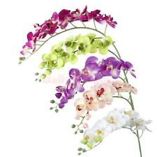 1pcs Artificial Simulation Butterfly Orchid Flower Plant DIY Wedding Decoration