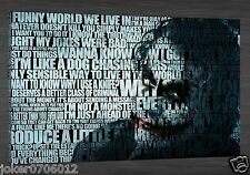 Home Deco Oil Painting HD Print Joker On Canvas Modern Deco Wall Aet 20X32 inch