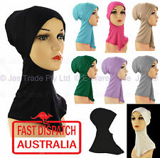 Women Muslim Islamic Head Neck Cover Headcover Hijab ḥijāb Inner Cap Cotton