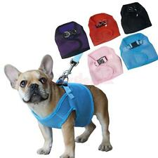 Breathable Mesh Pet Dog Puppy Harness Walking Collar Chest Strap Vest Size XS-XL