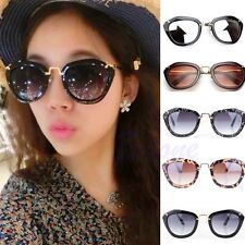 NEW Fashion Women's Classic Cat Eye Designer Shades Leopard Frame Sunglasses