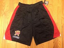 New Mens Lax World Maryland Mesh Lacrosse Shorts