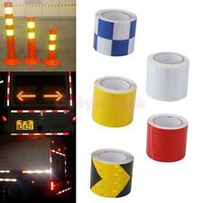 3m x 5cm Reflective Tape Road Safety Warning Conspicuity Film Sticker Roll Strip