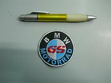 PATCH PATCH BMW MOTORRAD GS EMBROIDERED FUSIBLE embroidery cm 7
