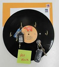 Key Holder Home Organizer Leash Holder Wall Mounted LP Records