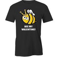Bee My Valentine T-Shirt Valentines Day Gift Idea Boyfriend Girlfriend Him Her C