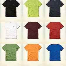 NWT HOLLISTER Mens Must Have Slim Fit V-Neck T-Shirt Tee By Abercrombie.