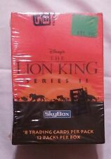 The Lion King Series II Skybox Trading Cards Wax Box New Sealed