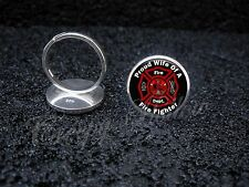 Fire Fighter Proud Choose Family Member 925 Sterling Silver Ring