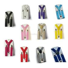 11Colors Children Kid Boy Girl Toddler Clip-on Pants Suspender Adjustable Braces