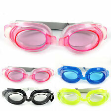 Jelly Clear Adult Kid Anti-fog Waterproof UV Protection Swimming Goggles Glasses