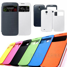 Flip PU Leather CASE Cover Smart Wake View For SAMSUNG GALAXY S4 i9500 Hot FD