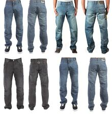 MENS BNWT ENZO STRAIGHT LEG JEANS IN 2 COLOURS SALE PRICE ALL SIZES £9.99 ONLY