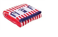 Beach Hut Bath Towel  Red BN