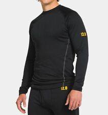 Under Armour UA Men's Base 2.0 Crew Long Sleeve Base Layer (Black) 1239724-001