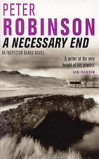 A Necessary End BRAND NEW BOOK (Inspector Banks Mystery), Peter Robinson