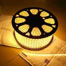 Warm White 120V 250V SMD3528 Flexible LED strip rope Celling Lighting Custom Cut