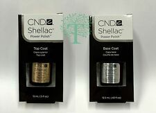 CND Shellac LARGE BASE .42 fl oz/ TOP COAT 0.5 fl oz/ Pick Any