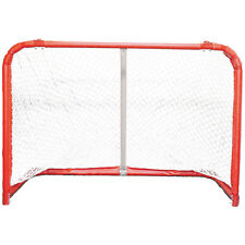 "Senior Steel Hockey Goals Ice InLine Roller Street Senior Goal 72"" New DR Net"