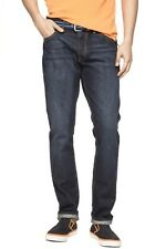 ex GAP 1969 Men Authentic Skinny Fit Jeans - Premium Blue Wash