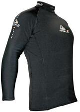 Thermal 2P Fleece Rash Top From Adrenalin Superstretch Long Sleeve BLACK 50+ UPF
