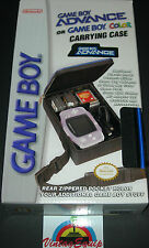 GAMEBOY ADVANCE AND GAMEBOY COLOR CARRYING BAG CASE NEW IN BOX