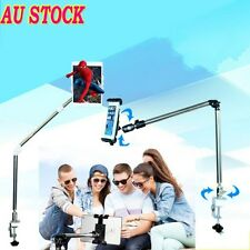 360°Portable Rotating Lazy Bed Desk Stand Mount Holder For iPhone & iPad Tablet