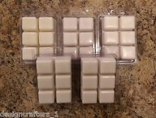 4x Soy Based Wax Tarts Melts DOUBLE Scented Clam Shell 30 Scents Available 9.6oz