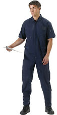 ROTHCO Military Flight Suit Air Force Style Flight Coveralls Short Sleeve