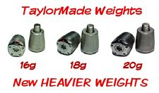 NEW Weights for TaylorMade  MWT   R1 /  R11s / R11   Spider / Rossa  16g 18g 20g