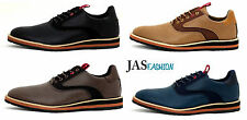 NEW Mens Fashion Casual Smart Shoes Lace Up Formal Work Office Wedding Size