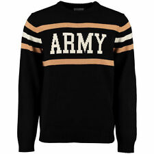Hillflint Army Black Knights Black Vintage Stadium Knit Sweater