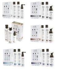 NIOXIN HAIR LOSS SYSTEM KITS - (1-6) AVAILABLE