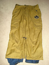 Burton'sThe White Collection Gold Mens Snowboard Pants Size XL